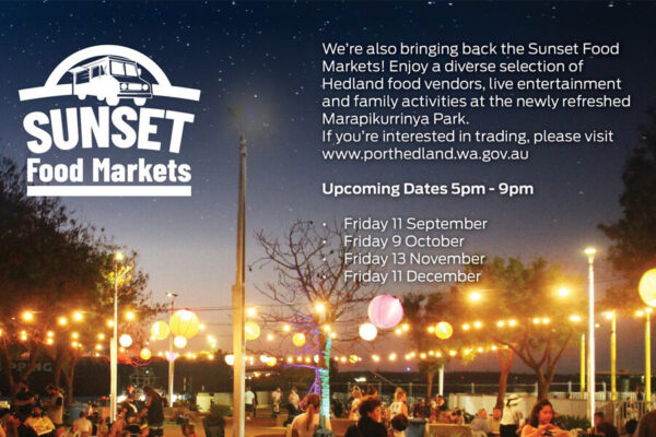 Town of Port Hedland Sunset Food Markets