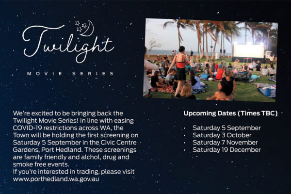 Town of Port Hedland Twilight Movie Series